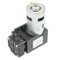 1pc Mini Pompe à vide Vacuum sans huile Pump Oilless DC12V 42W -85KPa 40L/min♡
