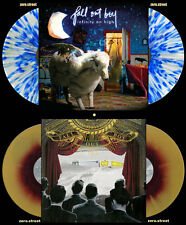 FALL OUT BOY 2xLP Lot: INFINITY ON HIGH/UNDER CORK on COLORED VINYL New SEALED
