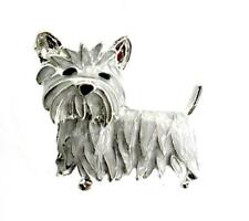 New Westie Brooch West Highland Terrier Dog Pin Women
