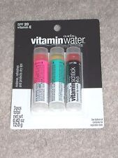 3 Vitamin Water Bonne Bell KIWI STRAWBERRY ACAI POMEGRANATE POWER C Lip Balm New