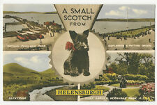 Scotland - Helensburgh, A Small Scotch, Multiview - Vintage Postcard