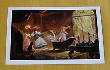 DISNEY PRINCESS POSTCARD ~ BEAUTY AND THE BEAST - BELLE AND THE DANCING CLOTHES