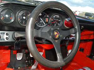 BWA GAMMA FERRARI PORSCHE ALFA BMW MG LOTUS STEERING WHEEL