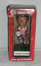 Chivas USA Bobblehead CLADIO SUAREZ + Box Soccer Football FREE US Ship