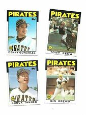 1986 Topps Baseball Pirates Team Set 28 cards