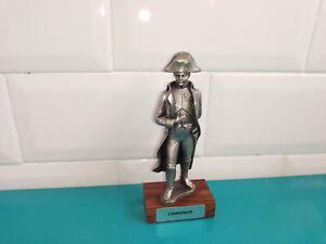 0609202 Figurine soldat en les étains du prince l'empereur napoléon