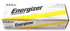 24 Energizer Industrial AAA Alkaline Batteries (EN92, LR03) EXP 12/2029