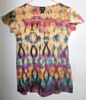 Style & Co. Multi-Color Blouse~Size Petite M