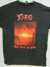 DIO LAST IN LINE 2017 BAND CONCERT MUSIC T-SHIRT 2XL / X X LARGE