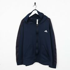 Vintage C9 By CHAMPION Small Logo Zip Up Polyester Hoodie Sweatshirt Large L