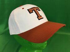 H262/170 NCAA University of Texas Longhorns Zephyr Hat/Cap White Size 7-3/8 NWT