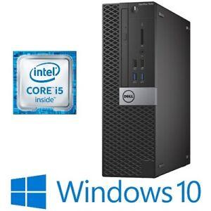 Dell Optiplex 7040 SFF Desktop PC Intel Core i5 6500 8G 240G SSD HDMI Win 10 Pro