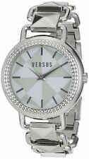 Versus by Versace SOA010014 Women's Coconut Grove Stainless Steel Silver Watch