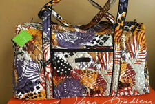 NWT Vera Bradley Large Duffel Travel Bag Tote Bag in Painted Feather