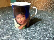 Danbury Mint Cliff Richard dreaming of you  fine English  bone china  Signed mug