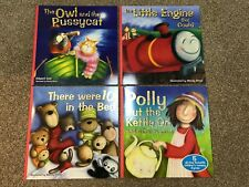4 CHILDREN'S NURSERY BOOKS STORIES, TALES AND RHYMES BRAND NEW