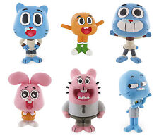Bullyland Comansi The Amazing World Of Gumball Toy Figures Cake Topper Toppers