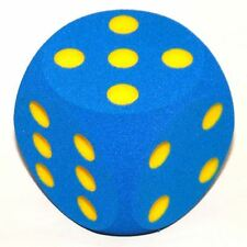 Giant Blue Foam Dice - 16cm