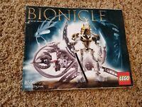 Lego Bionicle #8596 TAKANUVA - Instruction Manual Only