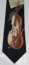 Men's Violin Tie Heystone Hand Made, Free Regular Canadian shipping