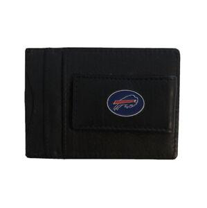 Buffalo Bills NFL Wallet Money Clip Black With Bills Logo