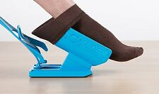 New Sock Slider Easy on off Sock Aid Kit Shoe Horn Travel System As seen on TV