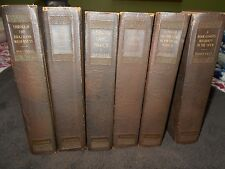 Theodore Rooesvelt set of Six of his Books including Rough Riders al HC VG+