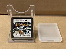Pokemon: Platinum Versión (Nintendo DS, 2009) UK 🇬 🇧 Stock-Envío Gratis!!!