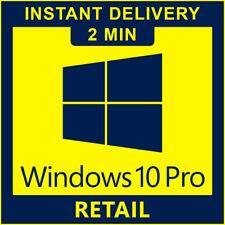 Windows 10 Pro Retail Key 32/64bit Genuine License - Instant delivery