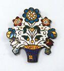 Unique vintage Collectible Coat pin unique collectible coat Badge G29-162 US