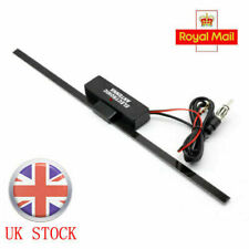 Electronic Amplified Antenna Stereo Radio FM Aerial Universal Car Vehicle 12V UK