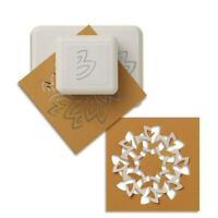Martha Stewart Punch - Petals - Cut & Fold Flower Pattern Doily Embelishment