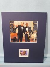 Saluting Louis Armstrong & Bing Crosby in High Society & his own stamp