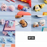 BTS BT21 Official Authentic Goods Plush Hair Tie Baby Ver + Tracking Number