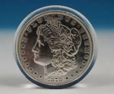 Arthur Rubloff Encased 1878 Morgan Silver Dollar A Buck For Luck $1 Coin Acrylic