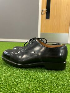 BRITISH ARMY ISSUE PARADE SHOES -VARIOUS SIZE - USED GRADE 1 - RAF