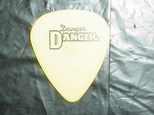 DANGER DANGER Logo & Bruno Ravel Signature 1990's Concert Tour GUITAR PICK #2