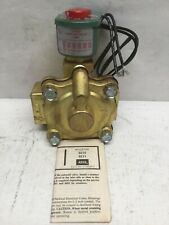 ASCO 8210D4 Solenoid & Air Operated 2 Way Valve