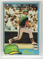 1981 Topps Baseball Oakland Athletics Team Set (Rickey Henderson)