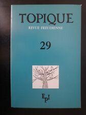 Psychanalyse : Topique Revue Freudienne n°29 - Sans titre