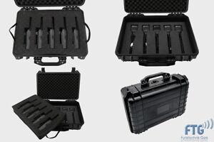 Outdoor 5er Kofferset mit Motorola DP1400 Funkgeräte VHF und LSM