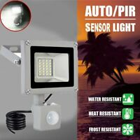Electric Flood Led Light with Motion Sensor Waterproof Indoor/Outdoor Lighting