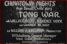 Chinatown Nights 1929 Precode w/Wallace Beery, Warner Oland, Florence Vidor