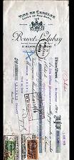 """SAINT-HILAIRE-SAINT-FLORENT (49) VINS / CAVES MOC-BARIL """"BOUVET & LADUBAY"""" 1929"""