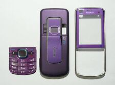 Purple Fascia case facia Housing Cover for Nokia 6220C 6220 classic
