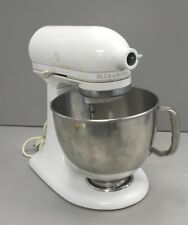 KitchenAid Artisan Stand Mixer - White/Used - 325 Watt; Works