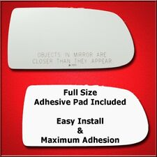 Mirror Glass + Full Adhesive For Mazda Protege, Protege5 Passenger Side Replacem