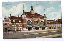 alte Ak 1915, Lübeck, Bahnhof