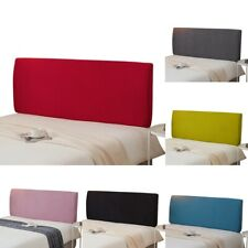 Solid Elastic Headboard Slipcover Protector Cover Dustproof Room Bed Head Cover