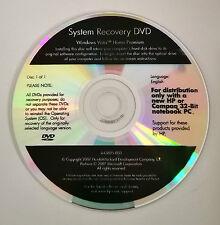 Windows Vista Home Premium System Recovery DVD